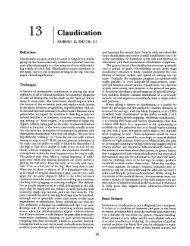13 Claudication - Famona Site