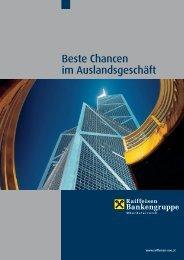 Beste Chancen im Auslandsgeschäft (pdf) - Raiffeisen