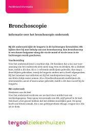 Bronchoscopie [71kb] Longziekten - Tergooi