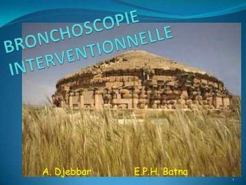 BRONCHOSCOPIE INTERVENTIONNELLE - Aurespneumo....