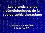 Les grands signes séméiologiques de la radiographie ... - ammppu