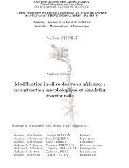 Modélisation in-silico des voies aériennes : reconstruction ... - Artemis