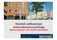 Unternehmensnachfolge – Raiffeisenbank Region ... - Oberösterreich