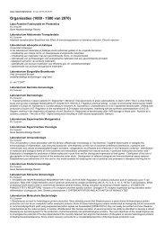 Organisaties (1000 - 1500 van 2070)