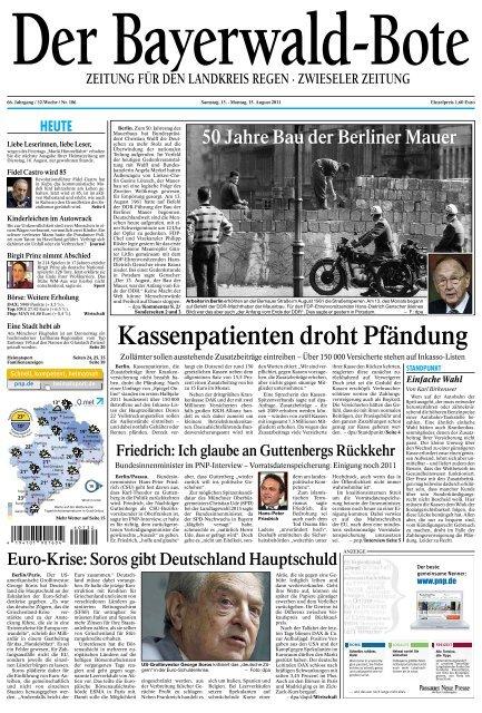 Pressebericht Bayerwald-Bote - Zwiesel