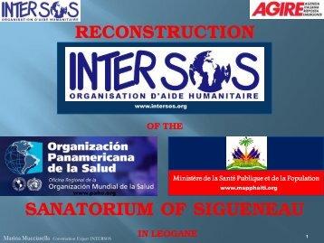 RECONSTRUCTION SANATORIUM OF SIGUENEAU - Agire