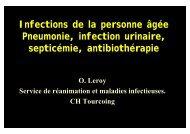 Pneumonie, infection urinaire - Medco 59 62