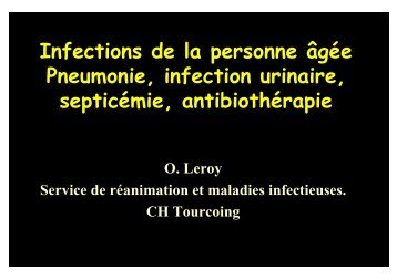 Pneumonie, infection urinaire - Medco 59 62
