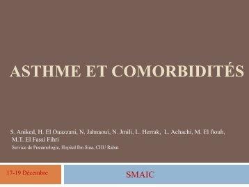 L'ASTHME ET COMORBIDITÉS - Société Marocaine d'Allergologie ...