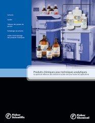 Produits chimiques pour techniques analytiques - Fisher Scientific