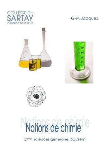 cours de Mr Jacques sciences 5h