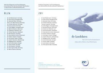 Kandidatenvorstellung mit Bildern (PDF-Flyer) - ZZB Zukunft ...