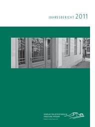 Jahresbericht 2011 (PDF) - Zentrum für Zeithistorische Forschung ...
