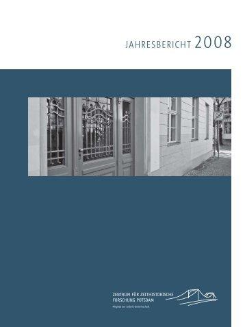 jahresbericht 2008 - Zentrum für Zeithistorische Forschung Potsdam