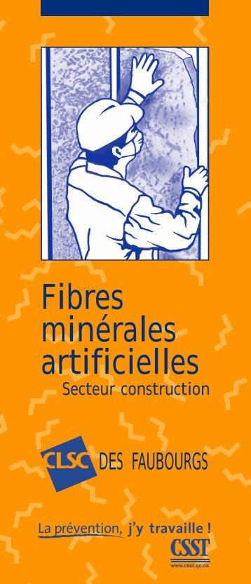Fibres minérales artificielles - CSST