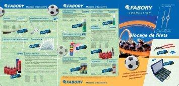Blocage de filets - Fabory