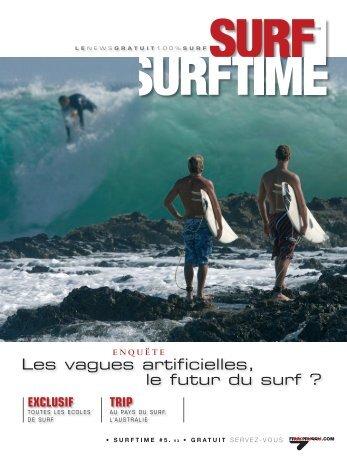 Les vagues artificielles, le futur du surf ?