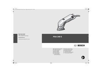 PDA 240 E - Svh24