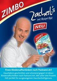 mit Rezept-Tipp m - Zimbo