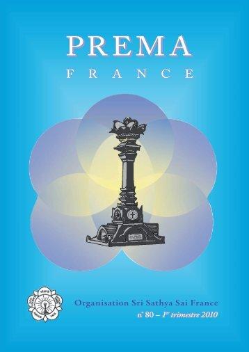 Prema - La revue de l'Organisation Sathya Sai France