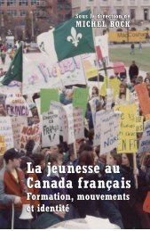 La jeunesse au Canada français La jeunesse au Canada français