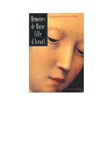 MEMOIRES DE MARIE.le livre - Document sans nom