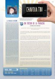 Télécharger le PDF Chavoua Tov 'Houkat 5773 - Torah-Box.com