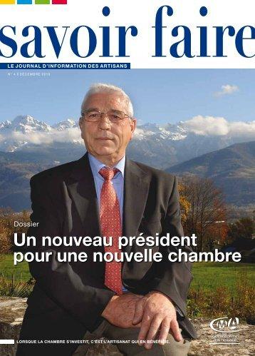 Un nouveau président pour une nouvelle chambre - Chambre des ...