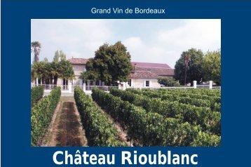 livre rioublanc pour pdf allemand vok.cdr - Château Rioublanc