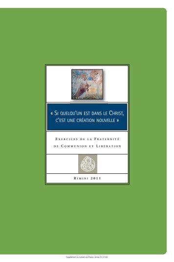 Télécharger le livret des exercices (PDF) - Comunione e Liberazione