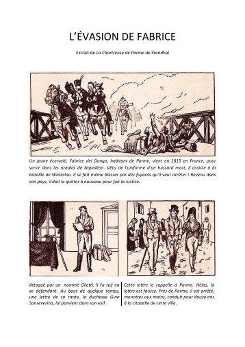 L'ÉVASION DE FABRICE - EklaBlog