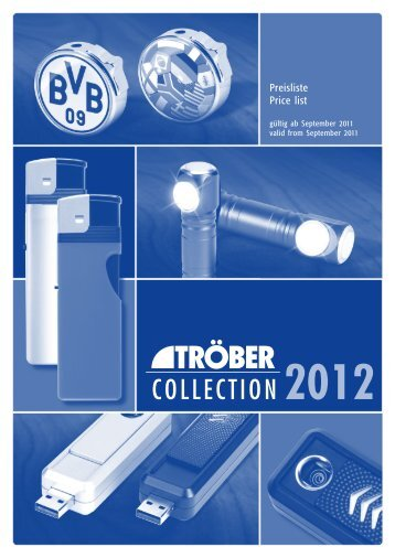 COLLECTION 2012 - Troeber.com
