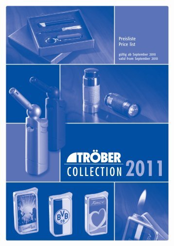 COLLECTION 2011 - Troeber.com