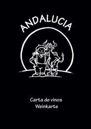 Vino Blanco - Restaurante Andalucia