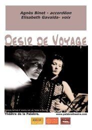Dossier complet au format PDF (561 Ko) - Théâtre de la Palabre