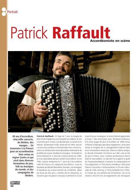 Portrait - Patrick RAFFAULT