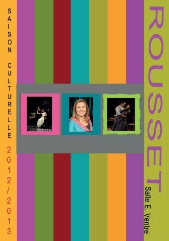Plaquette saison culturelle 2012/2013 - Rousset