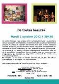 Plaquette saison culturelle 2012/2013 - Rousset - Page 6
