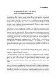 Texte de Jo Akepsimas - Liturgie catholique