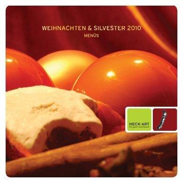 WEIHNACHTEN & SILVESTER 2010