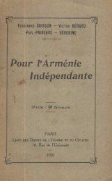 Indépendante - Nouvelles d'Arménie
