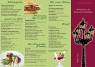 3 Matjesfilets - Restaurant-Kandelaber