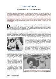 Vision du Divin - Sathya Sai Baba - Prema - La revue de l ...