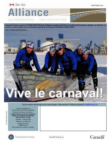 Printemps 2012 (version PDF, 7509 Ko) - Conseil de Liaison des ...
