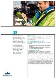 Inland distribution - Wallenius Wilhelmsen Logistics