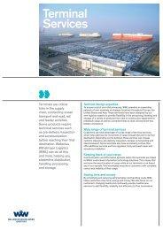 Terminal services (PDF) - Wallenius Wilhelmsen Logistics