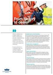 From factory to dealer - Wallenius Wilhelmsen Logistics