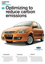 Optimizing to reduce carbon emissions - Wallenius Wilhelmsen ...