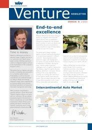 VENTURE Issue 5 - Wallenius Wilhelmsen Logistics