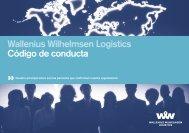 Wallenius Wilhelmsen Logistics Código de conducta
